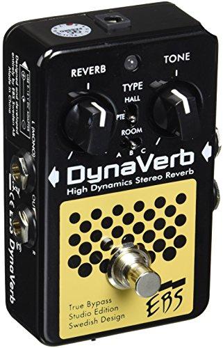 Primigi EBS EBSDVSE DynaVerb Studio Edition, 24-bit digital Reverb Pedal, 8 Sounds
