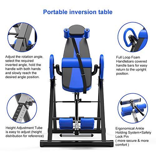 Yoleo Gravity Inversion Table