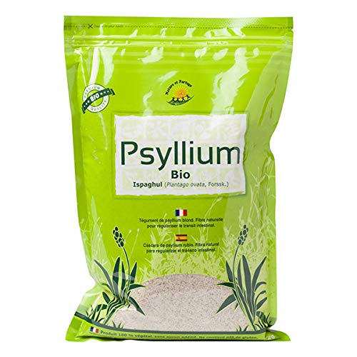 Nature & Partage - Psyllium Ispaghul Bio 1Kg - Prix De L'Unité - Livraison Rapide En France Métropolitaine