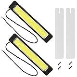 LED デイライト バーライト Safego トランクボート用 防水 防塵の 16W/セット ショックプルーフ 明るい 白色光 3000LM 6000K 2 個入り 1年保証