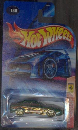 Hot Wheels 2004 Ferrari Heat 3/5 456M GREEN 130 1:64 Scale