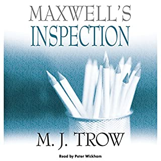 Maxwell's Inspection audiobook cover art