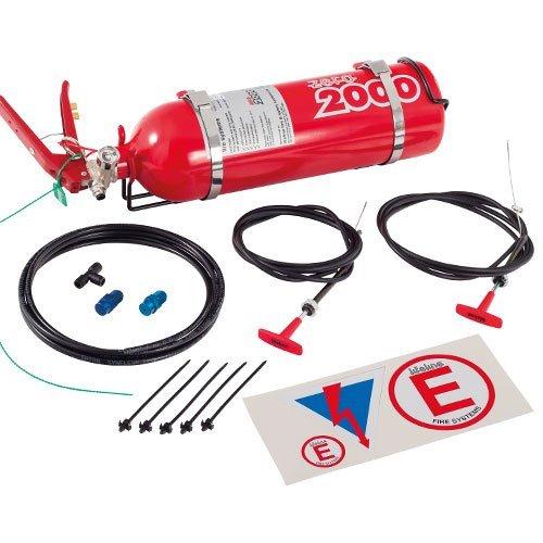 Lifeline 101-225-001 Zero 2000 2.25 ltr Club Fire Marshal Mechanical System