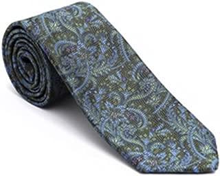 Robert Talbott Purple with Multi Color Stripes Executive Estate Tie