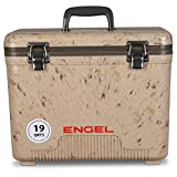 ENGEL UC19C1 19 Quart Leak-Proof air-Tight drybox/Cooler, Camouflage