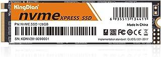 KingDian 128GB 256GB PCIe NVMe M.2 2280 Internal SSD High Performance Solid State Drive (128GB) (NVME 128GB)