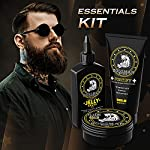 Bossman Essentials Beard Kit for Men - Beard Oil Jelly, Fortifying Conditioner Cream, Beard Balm - Grooming Growth Care… 4