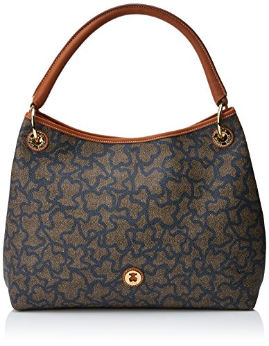 Tous Saca Kaos New Total, Bolso Totes para Mujer, Multicolor (Nude/Jeans), 12x29.5x38...