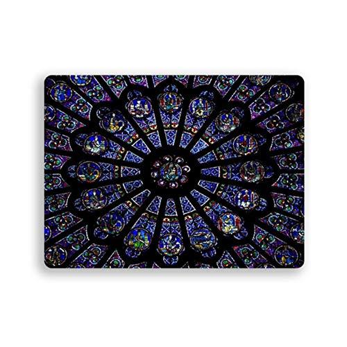 LoveOlvido Muismat Paris Print Notre-Dame Galaxy Rechthoek Antislip Rubber Mousepad Gaming Muismat Gamer Gel Mat Accessoires
