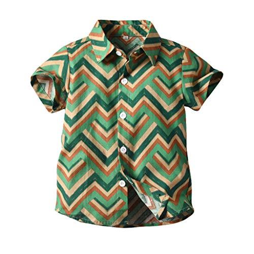 Pageantry Baby Jungen T-Shirt Kurzarm Cartoon Drucken Shirt Uv-Schutz Bade-Set Farbe Polo T-Shirt Mit Kragen Baumwolle Herr Freizeit Kindergeburtstag Geschenk
