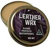 Australian Leather Wax Waterproofing Canaubria and Bees wax, Neatsfoot oil