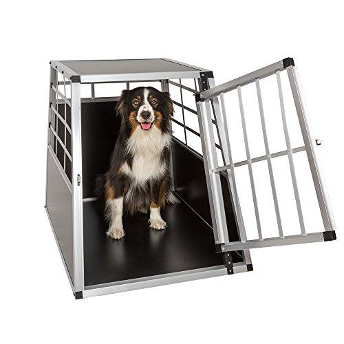 TecTake Alu Hundetransportbox -diverse Größen - 2