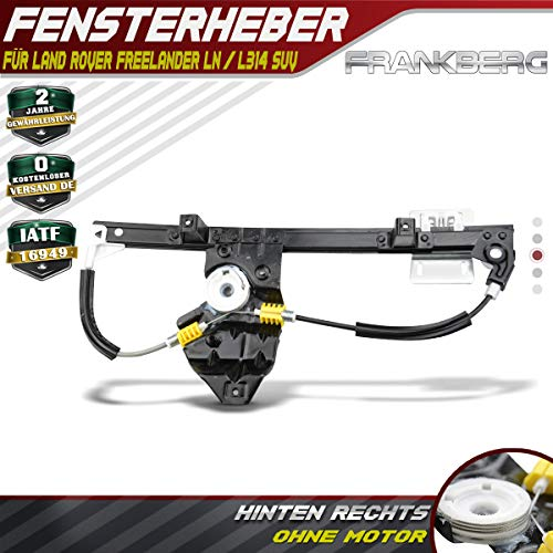 Fensterheber Ohne Motor Hinten Rechts für Freelander LN 1998-2006 CVH101202