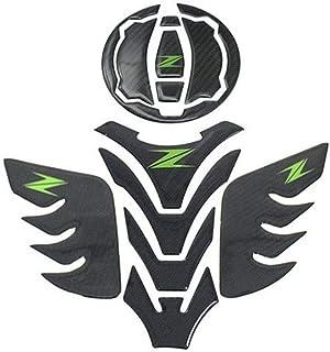 Adesivo per serbatoio For Kawasaki Z400 Z 400 Z 650 Z650 Z900 Z 900 Moto Fuel Oil Gas protezione del serbatoio Copre Pad Adesivi Protector Color : A