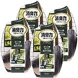 【まとめ買い】お部屋の消臭力 部屋用 炭と白檀の香り 400ml×4個 部屋 玄関 リビング 消臭剤 消臭 芳香剤