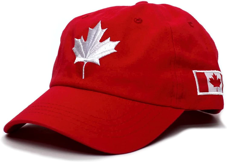 CHENGWJ Baseball cap Cotton Gorras Canada Baseball Cap Flag Of Canada Hat Snapback Adjustable Mens Baseball Caps Snapback Hat