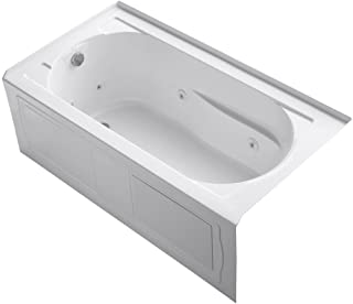 KOHLER K-1357-LA-0 Devonshire 5-Foot Whirlpool, White