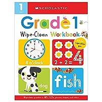 Wipe-Clean Workbook Grade 1 (Scholastic Early Learners)