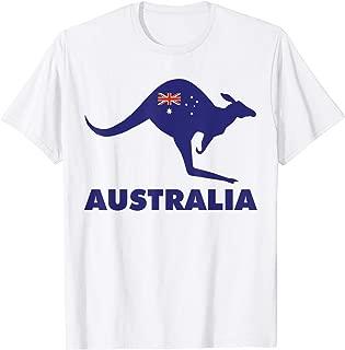 TIANLAGNHB Australia Kangaroo Australian Souvenir T-Shirt