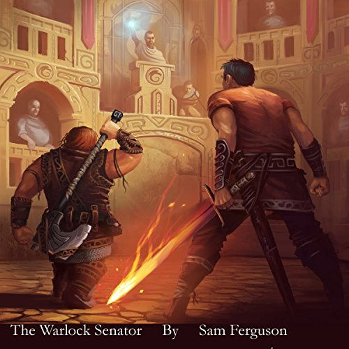 The Warlock Senator audiobook cover art