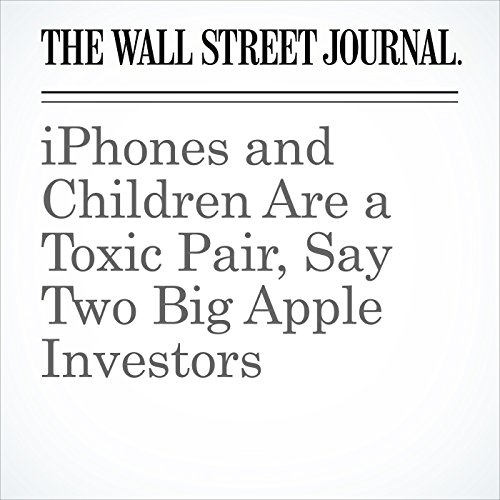 iPhones and Children Are a Toxic Pair, Say Two Big Apple Investors copertina
