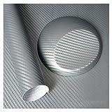 Vinilo De Fibra De Carbono,Fibra De Carbono Pegati 500mmx2000mm fibra del carbón 3D película del vinilo etiqueta engomada del coche a prueba de agua Car Styling Vehículo Wrap Auto Detailing accesorios