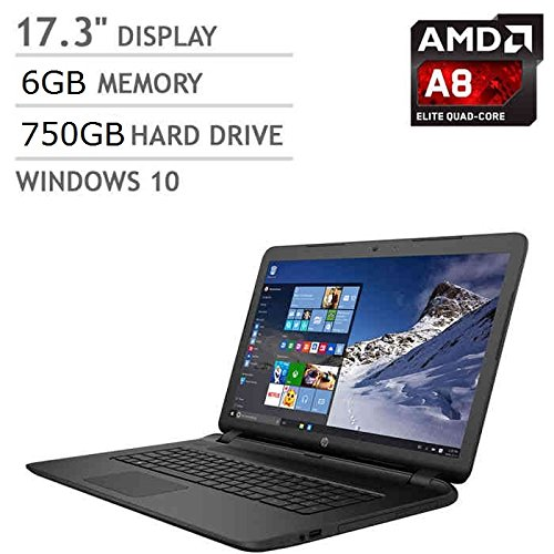 HP 17z-p100 17.3-inch Laptop - AMD Quad Core A8...