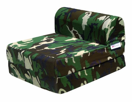 Sit & Joy 4.09599 Sitzsack Sleep Element Camouflage Creme