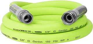 Flexzilla Garden Lead-in Hose, 5/8 in. x 10 ft., Heavy Duty, Lightweight, Drinking Water Safe - HFZG510YW