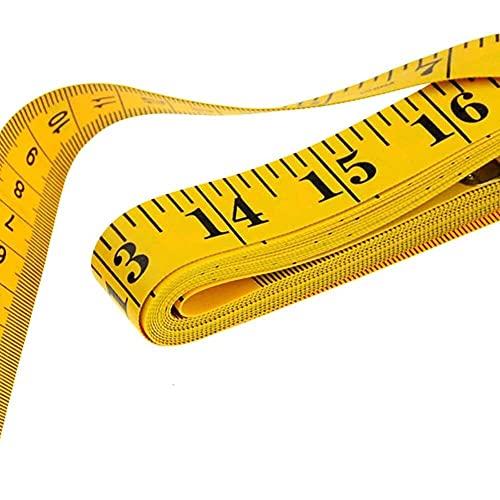YuKeShop 1pc Útil Regla de Medición del Cuerpo de Costura Cinta Medida Suave 2M Regla de Costura Medidor de Costura Cinta Medición