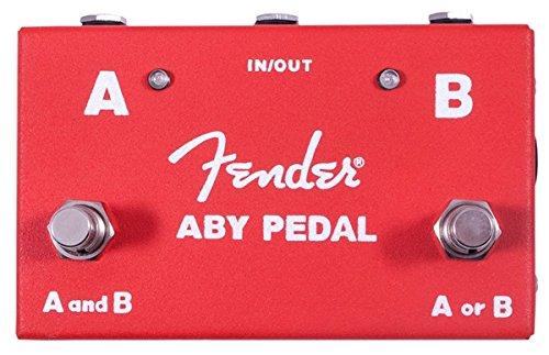 Fender 023-4506-000 ABY Interruptor de pie entre dos amplificadores o guitarras 023-4506-000