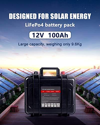 LiFePo4 Batterie 12V 100Ah