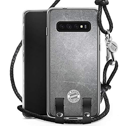DeinDesign Carry Case kompatibel mit Samsung Galaxy S10 Handykette Handyhülle zum Umhängen FC Bayern München FCB Fanartikel Merchandise