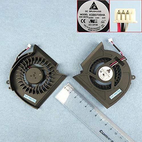 Kompatibel für Samsung R525 R528 R530 R540 R580 Lüfter Kühler Fan Cooler BA81-08475B, KSB0705HA