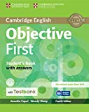 Objective First Student's Book with Answers with CD-ROM with Testbank 4th Edition