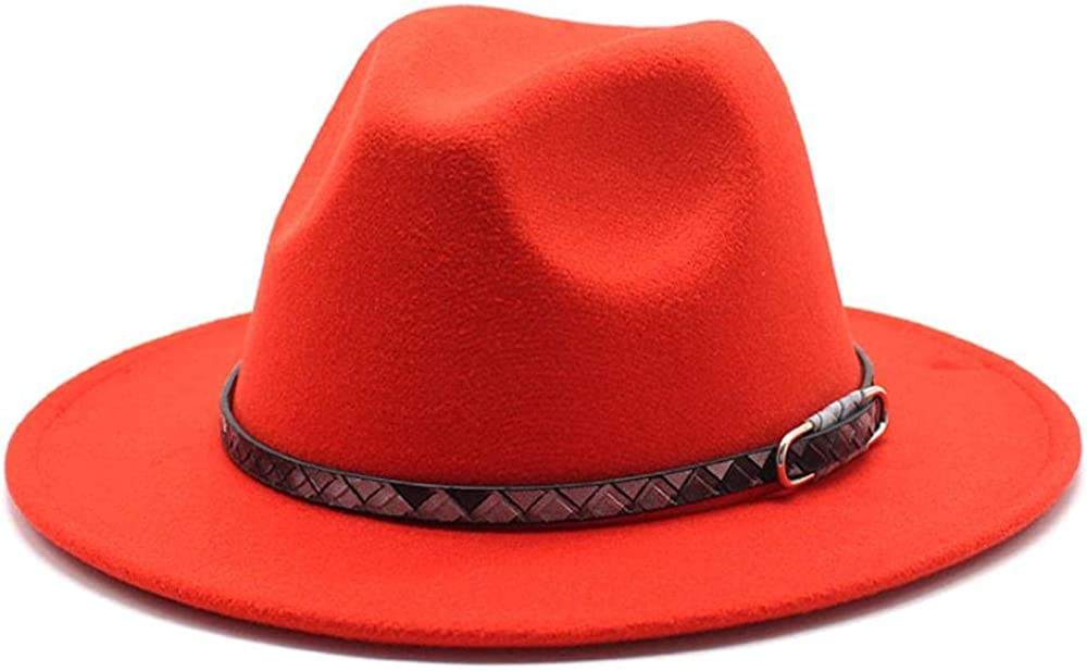 Women's Beauty products and Men's Fedora Hat Classic Now free shipping Wo Wide Panama Brim Elegant