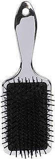 MINISO Rectangle Mirror Deluxe Massage Comb Hair Brush Plastic Scalp Care Silver