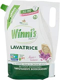 Winni's: Laundry Detergent – Eco-Refill Pouch Aleppo & Verbena 1000ml /33.81 fl.oz