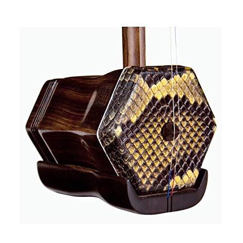 Erhu, Erhu Musikinstrument, Erhu, Adult Professional Professionelle Erhu, nationale Musikinstrument (Farbe: Natur) HUERDAIIT (Color : Natural)