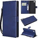 BoxTii Coque Sony Xperia L1, Etui en Cuir Flip Portefeuille Housse de Protection pour Sony Xperia L1...