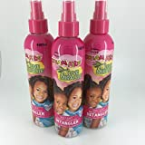 African Pride Dream Kids Olive Miracle Detangler 8 Ounce (235ml) (3 Pack)