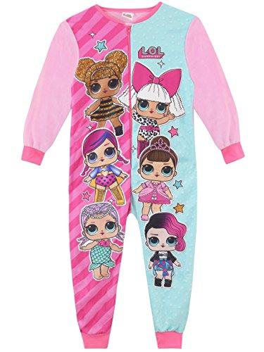 LOL Surprise! Tutina a Maniche Lunghe per Ragazze Dolls Multicolore 2-3 Anni