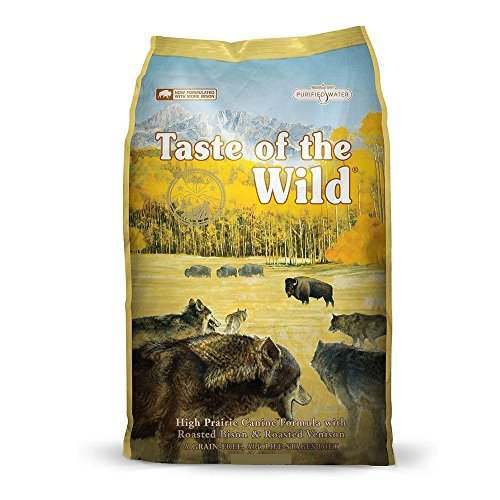 Taste of the Wild High Protein Real Meat Recipe Dry Dog Food with Real Roasted Bison & Roasted...
