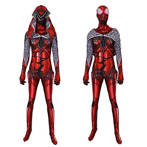 Hcxbb-b Venom Vrouwelijke Spiderman Kostuum- Volwassen/kinderen Halloween Party Film Props Panty