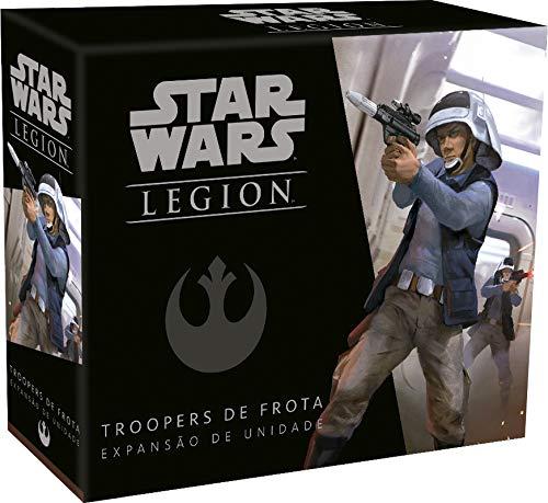 Wave 1 - Troopers De Frota - Expansão De Unidade, Star Wars Legion Galápagos Jogos Multicor
