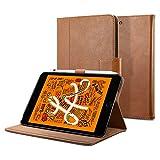 Spigen Stand Folio Compatible con iPad Mini 5 (2019) Funda - Marrón