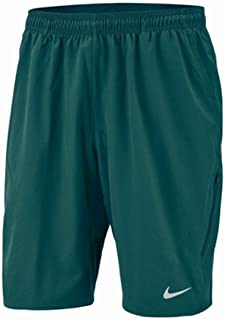 Nike Mens Solid Flat Front Casual Shorts