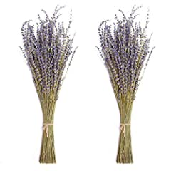 ✿ 100% NATURAL: Pure natural planting of lavender, hand-picked by farmers, naturally dried, retaining the original beauty of the flowers. ✿ ORIGINAL AROMA: No additives, retaining the original floral fragrance of lavender, smells very comfortable, ca...