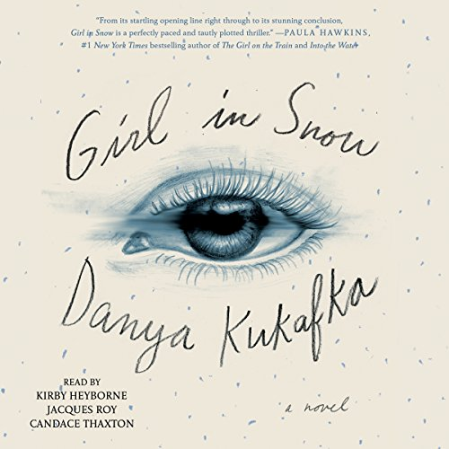 Girl in Snow audiobook cover art