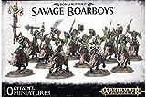 Games Workshop Warhammer Age of Sigmar Savage Boarboys Miniatures